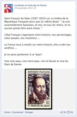 Savoie pas la France